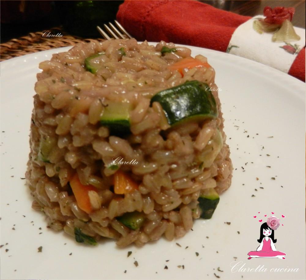 Risotto risotto integrale verdure aromatizzate ricette for Risotto ricette