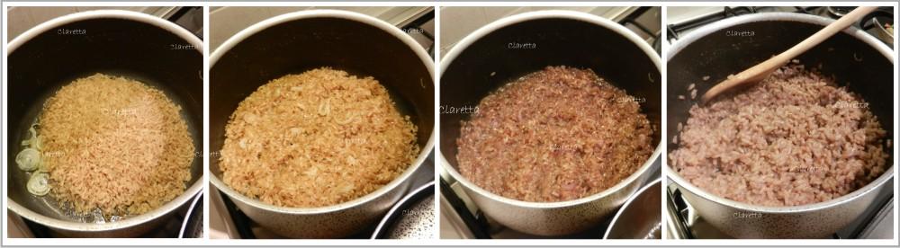 Risotto, Claretta cucina