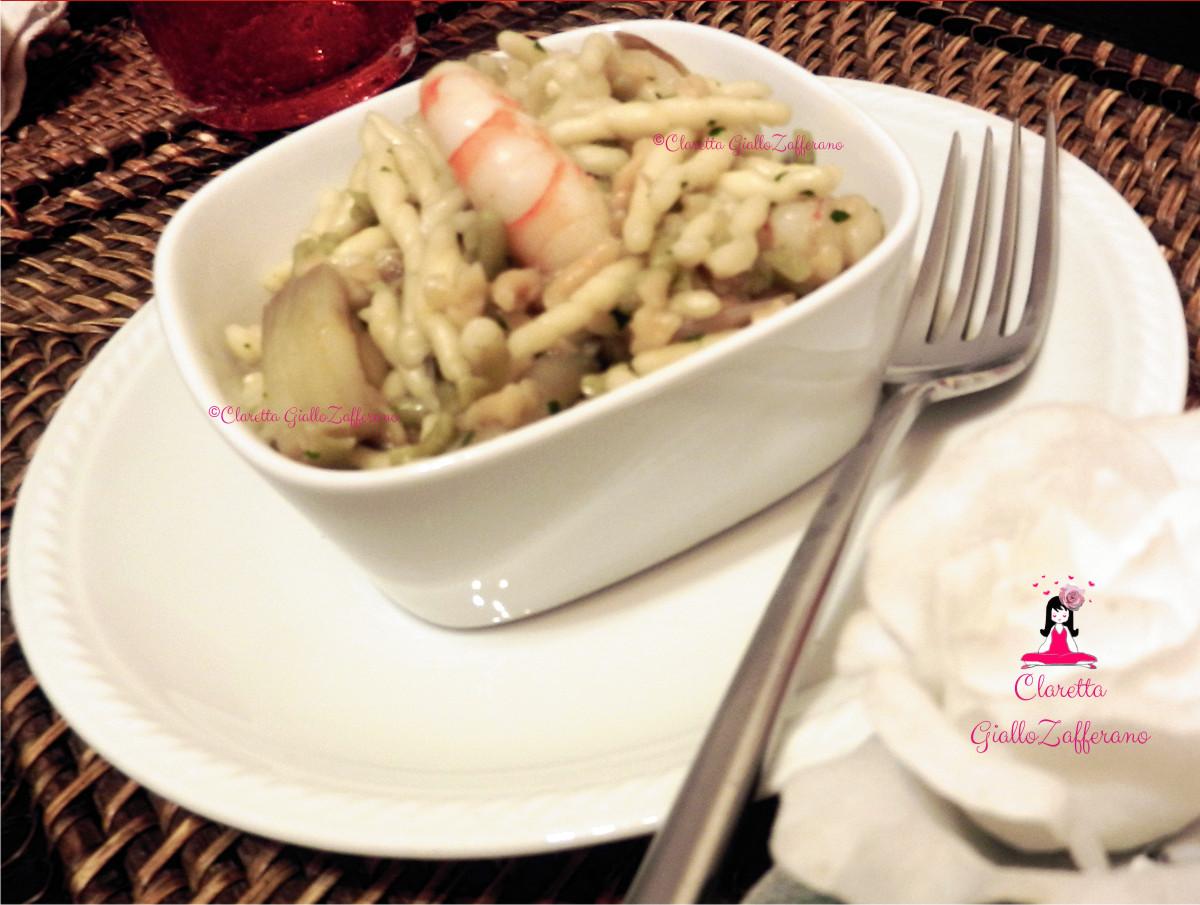 Trofie saporite con asparagi e mazzancolle, Ricetta di mare, Claretta GialloZafferano