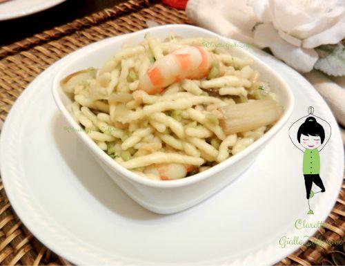 Trofie saporite con asparagi e mazzancolle, Ricetta di mare