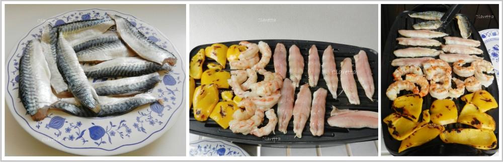 Pesce e verdure alla griglia, Ricette di pesce