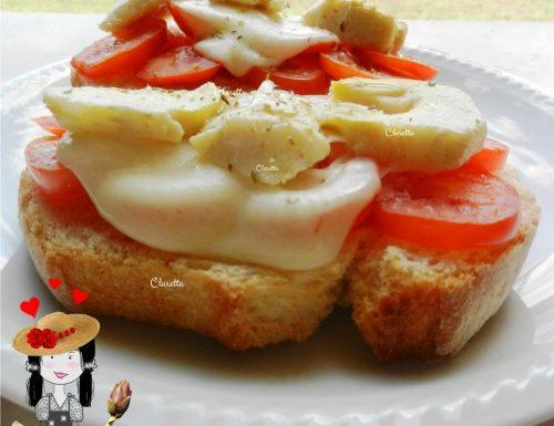 Bruschette ai carciofi, Ricetta bruschette
