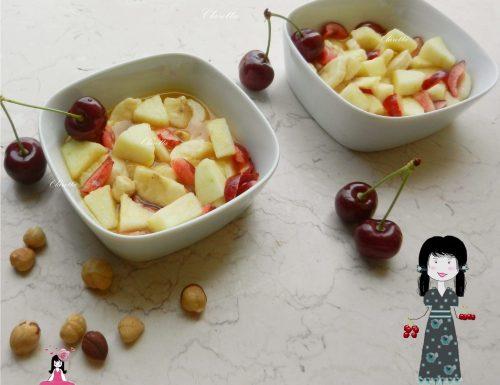 Macedonia di frutta estiva, Ricetta estiva
