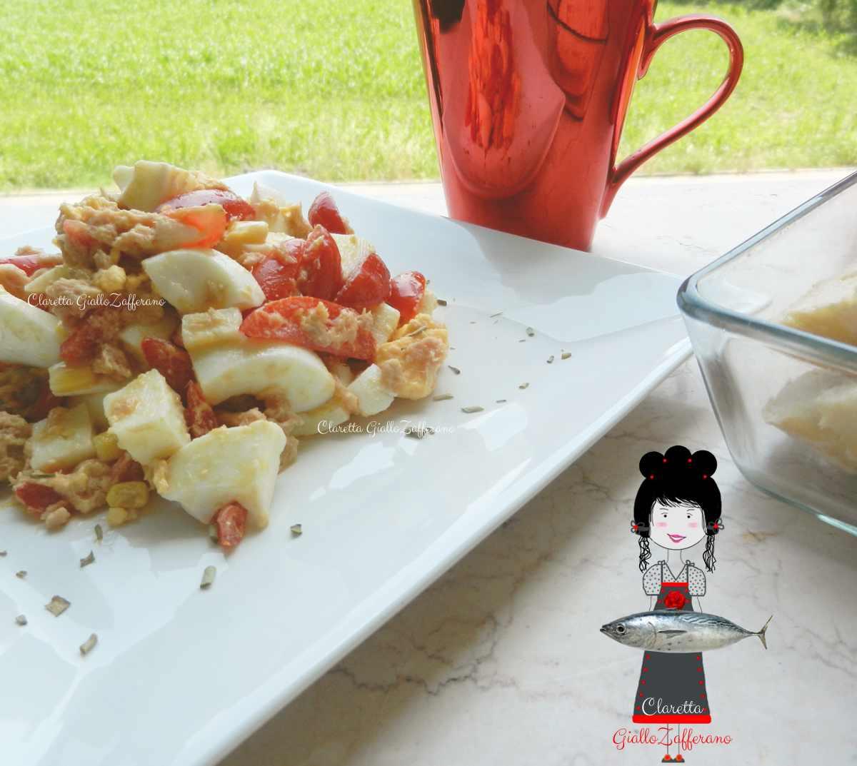 insalate dimagranti al pomodoro