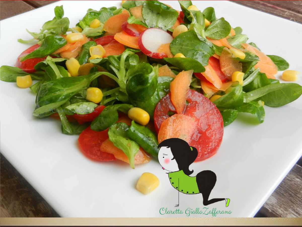 Insalata mista insalata ricette veloci insalata estiva for Ricette insalate