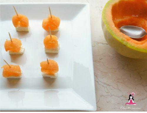 Melone e feta, Ricette finger food