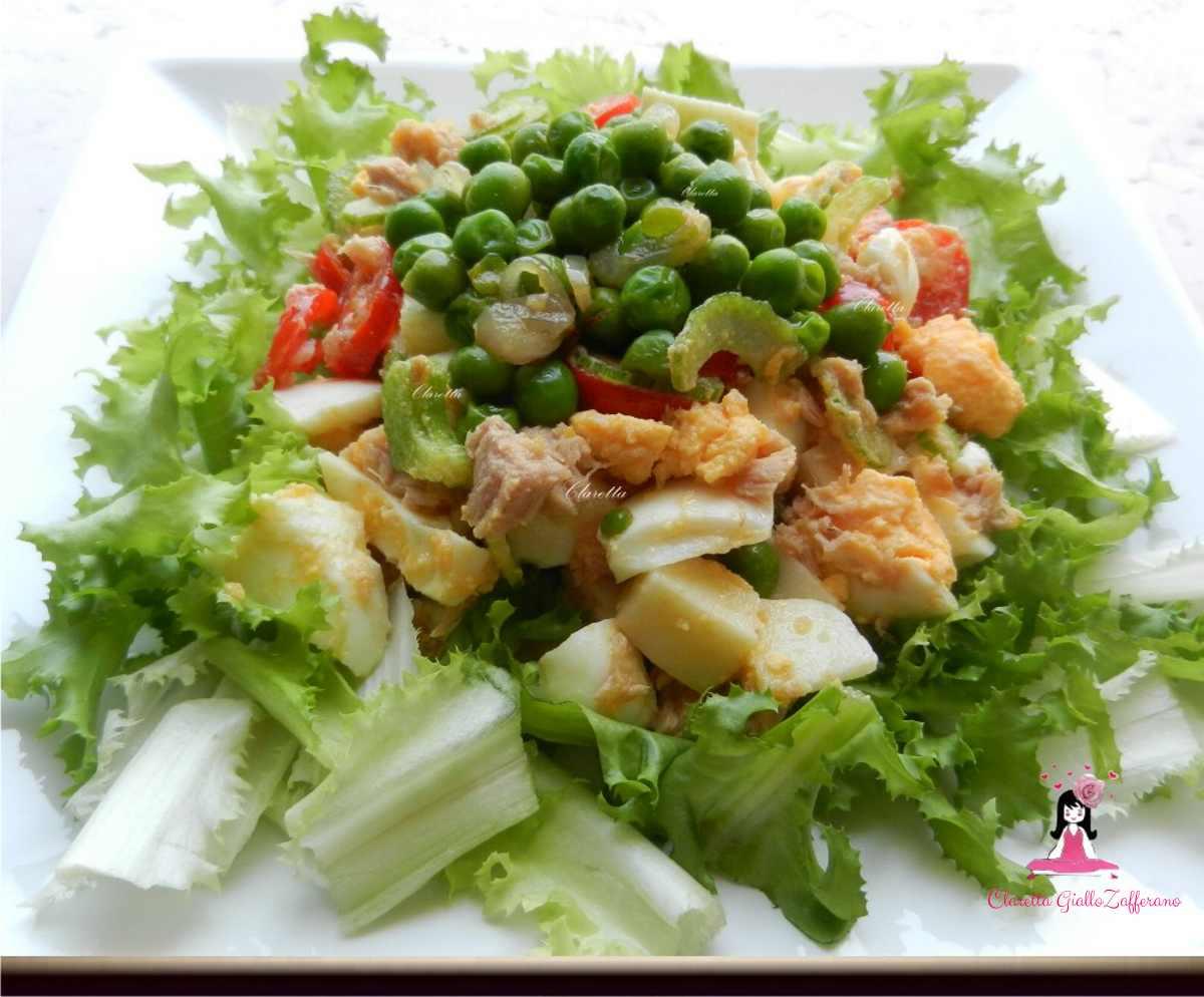 Insalata mista con tonno ricetta estiva insalata estiva for Insalate ricette