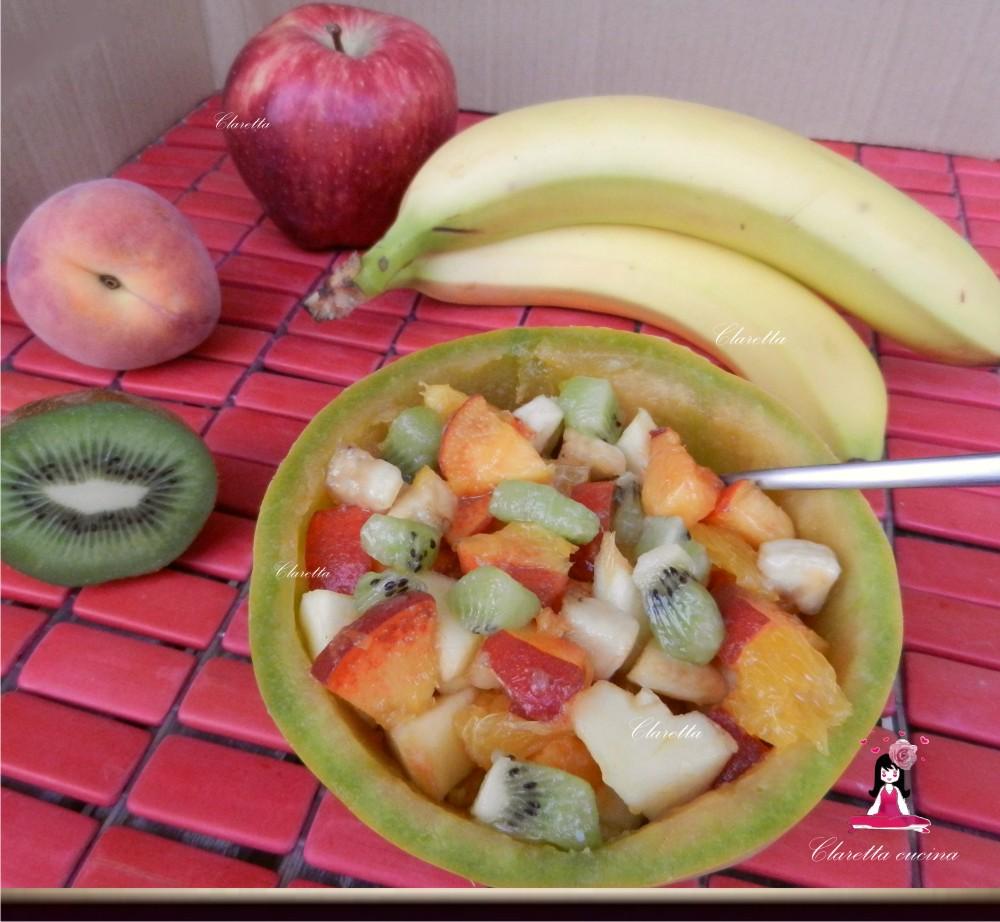 Macedonia di frutta, Ricetta estiva, Claretta cucina