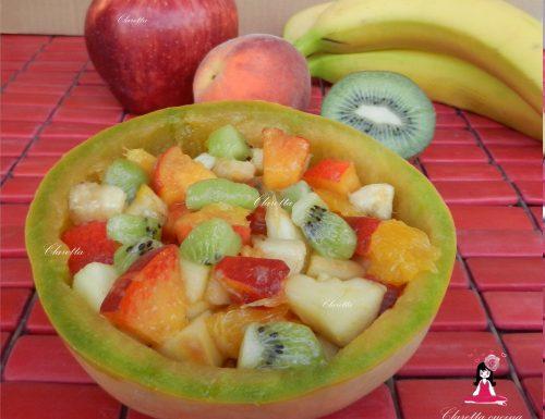 Macedonia di frutta, Ricetta estiva