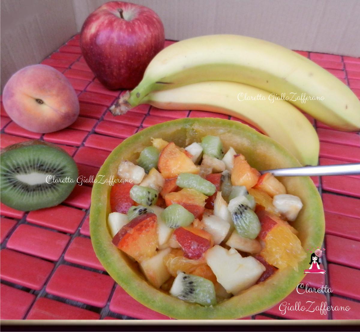 Macedonia di frutta, Ricetta estiva, Claretta GialloZafferano