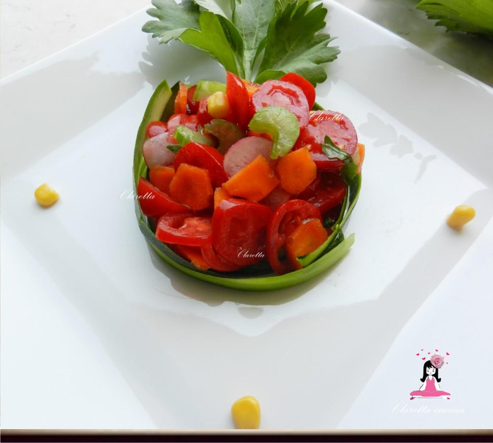 Insalata di verdure miste, Ricette insalate miste