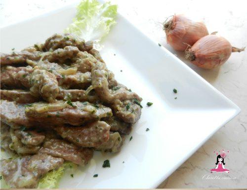 Fegato alla veneziana, Ricette carne