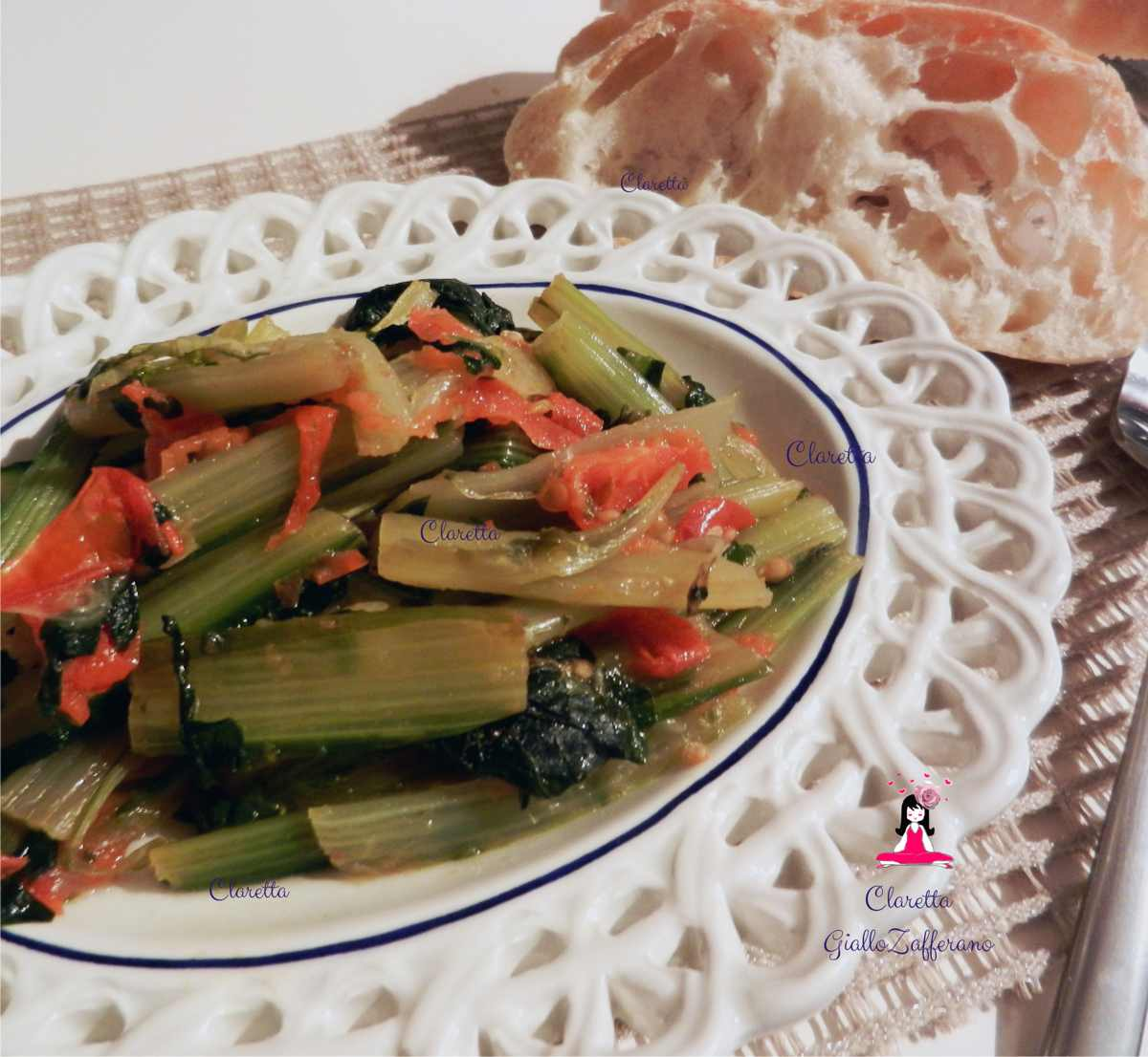 Coste al pomodoro, Ricetta contorno, Claretta GialloZafferano