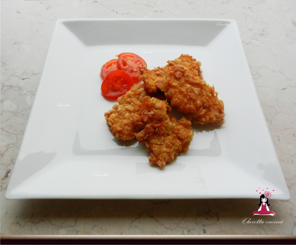 Crocchette di pollo al mais, Ricetta finger food, 357