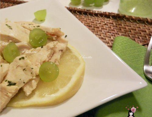 Petti di pollo pompelmo e zenzero, Ricetta veloce