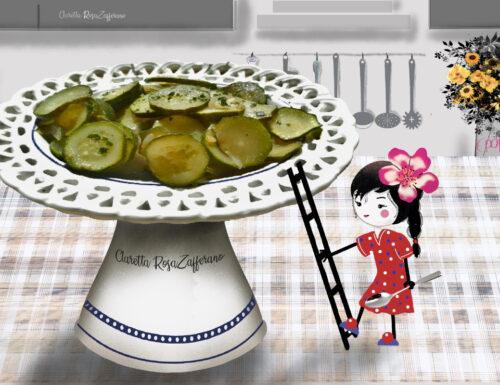 Zucchine in padella al vino, ricetta