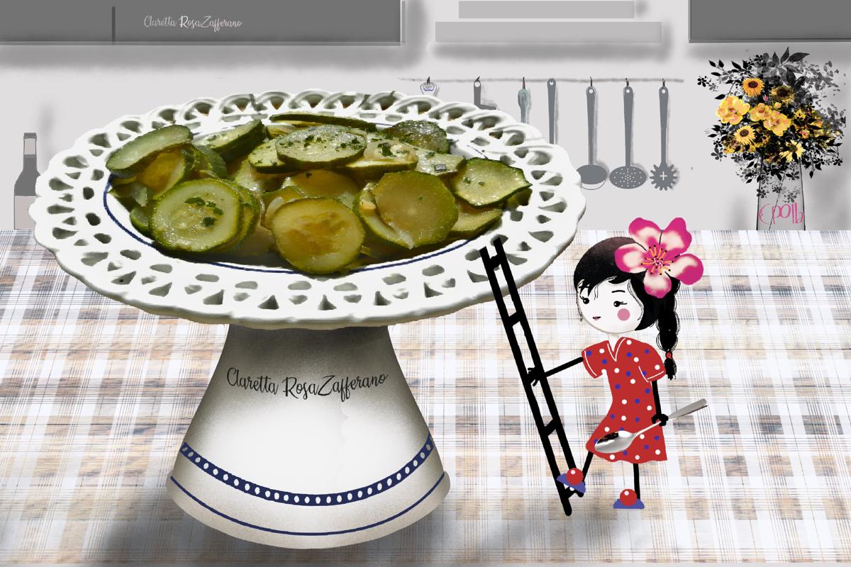 Zucchine | Zucchine in padella | ricetta