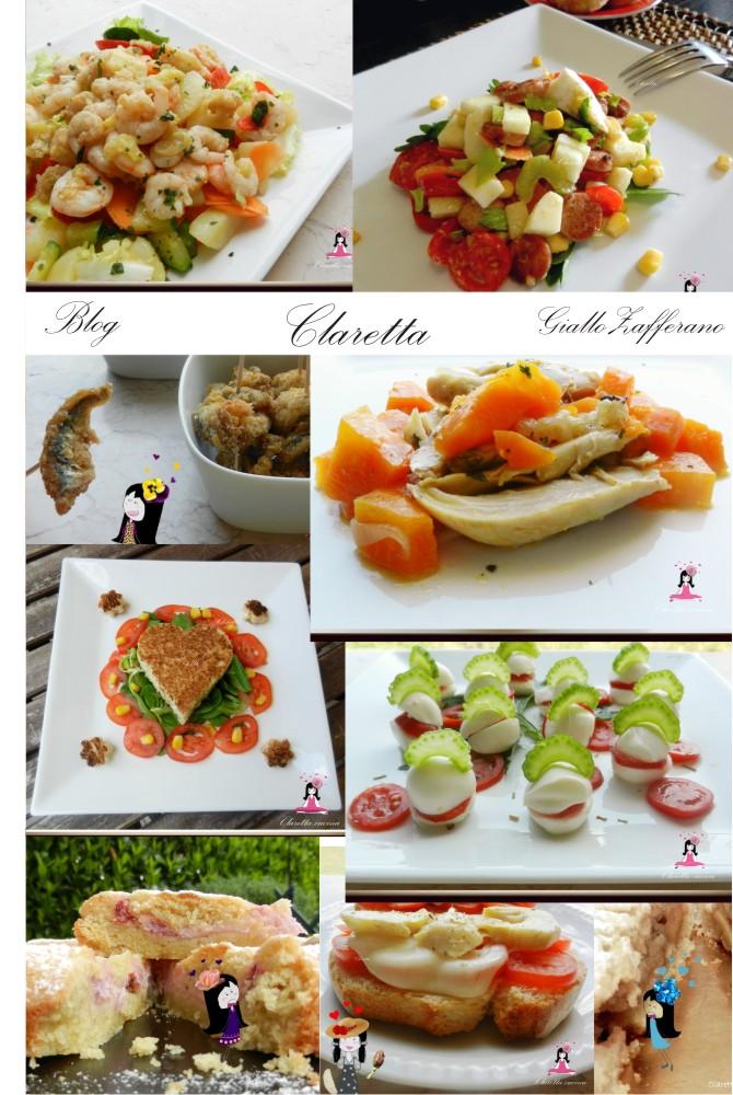 Ricette non solo light, Blog Claretta