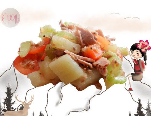 Ricetta Insalata di tonno, Ricette e Illustrazioni di Claretta RosaZafferano
