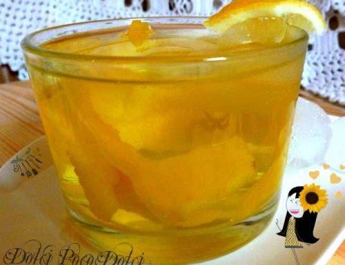Tisana al limone, Tisane with lemon