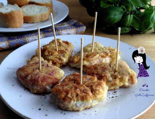 Finger food al prosciutto cotto, Finger food di carne