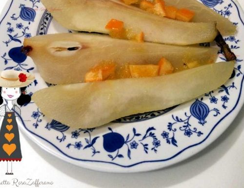Pere cotte all'arancia, Ricetta dolce