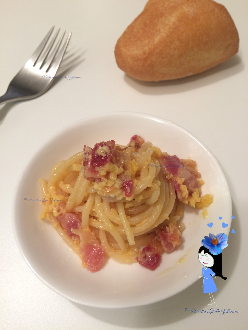Spaghetti alla Carbonara, Ricetta primo piatto