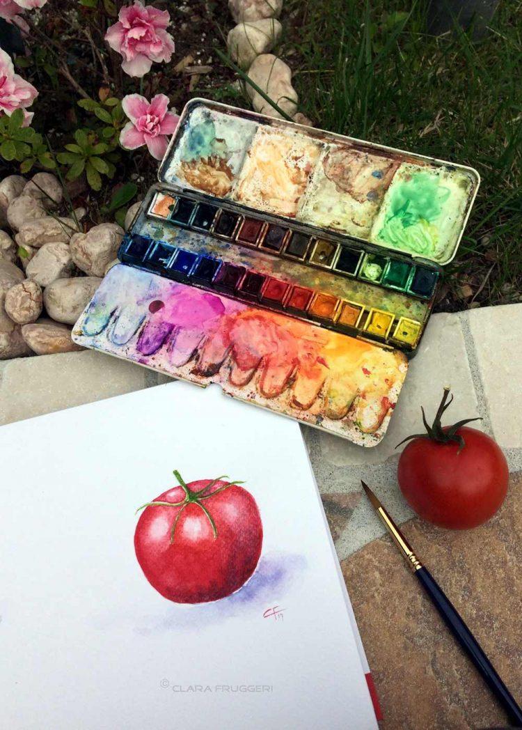 Storia di un pomodoro rosso
