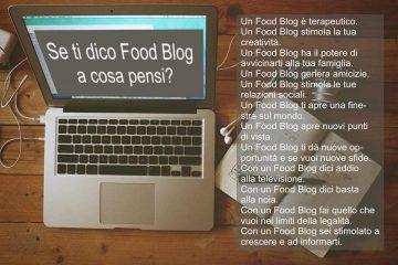 Aprire un Food Blog è una esperienza
