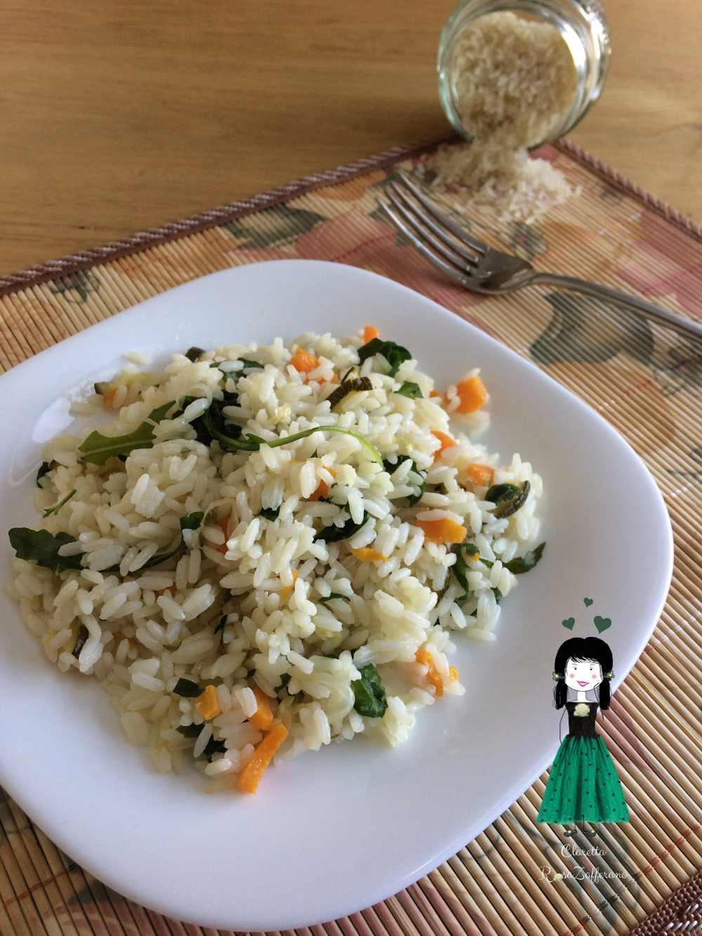 Risotto vegetariano ricetta primo piatto veloce riso freddo for Primo piatto veloce