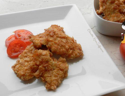 Crocchette di pollo al mais, Ricetta finger food