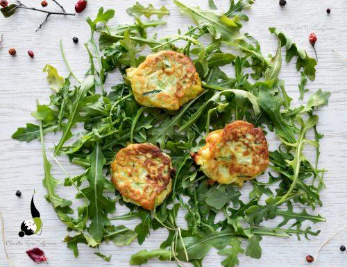 Frittelle vegetariane persiane, ricetta