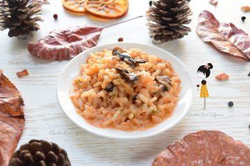 Risotto ai funghi e mozzarella