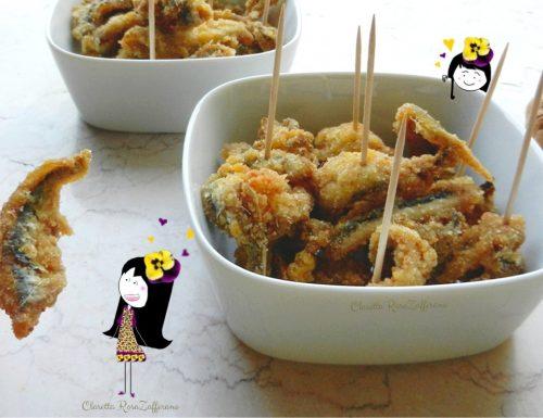 Sarde fritte, Finger food di pesce