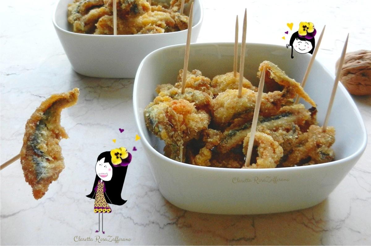 Sarde fritte - Finger food di pesce
