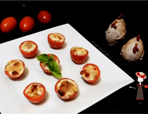 Pomodori ripieni al forno, Ricetta