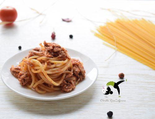Spaghetti al tonno, Ricetta