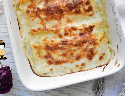 Cannelloni ricotta e zucchine, Ricetta