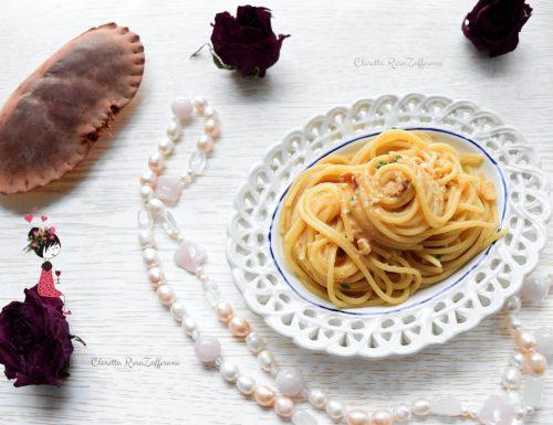 Spaghetti al granchio, Ricetta