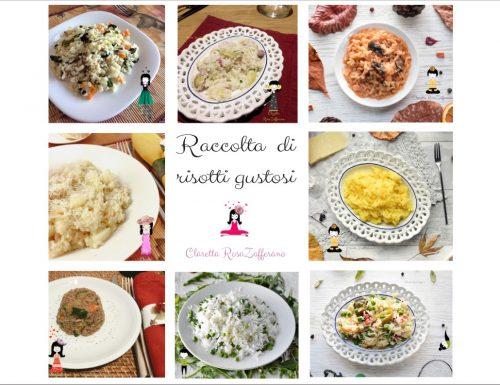 Ricette di risotti gustosi in una raccolta