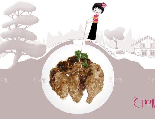Petti di pollo con aceto balsamico, Ricetta