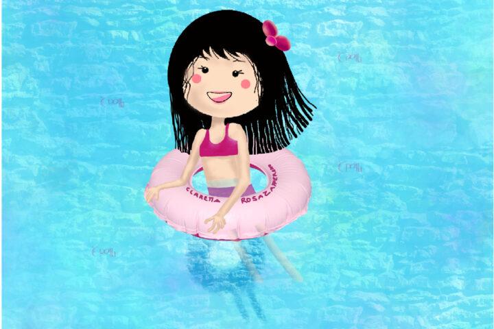 In piscina con Claretta RosaZafferano