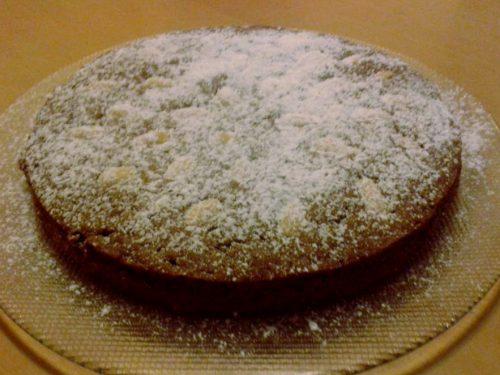Torta kefir e mandorle