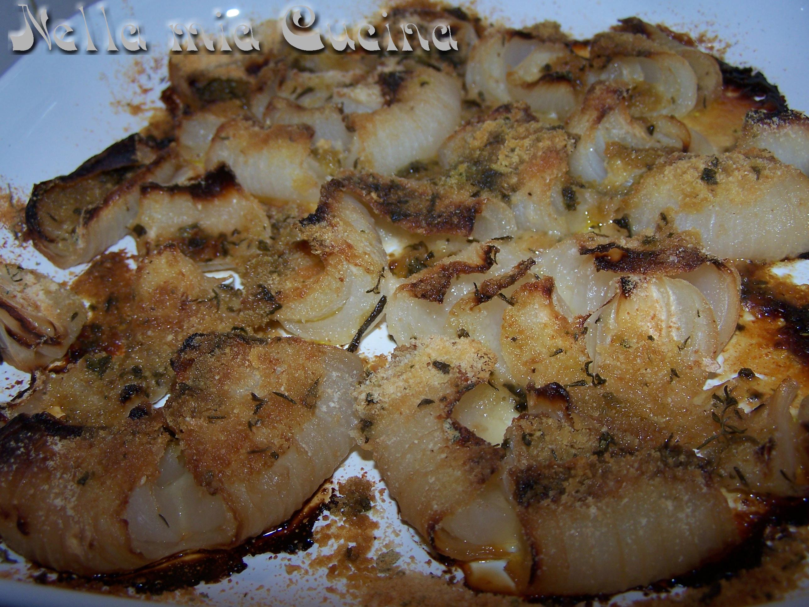 Cipolle gratinate al forno miriam nella mia cucina for Cucinare nei vari dialetti italiani