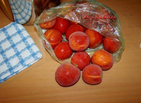 Conservazione dei pomodoro estivi