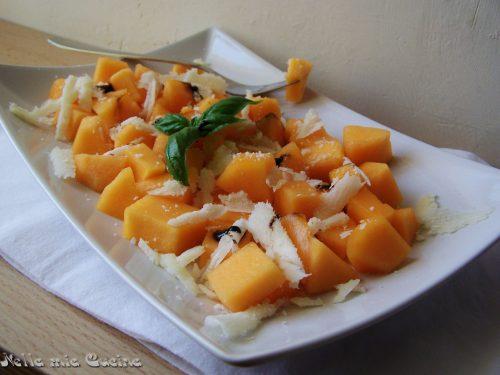 Melone e parmigiano