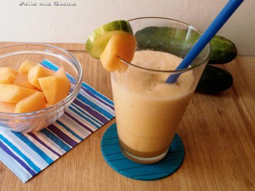 Frullato  di Melone con Cetriolo