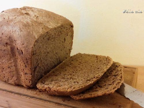 Pan bauletto in macchina del pane
