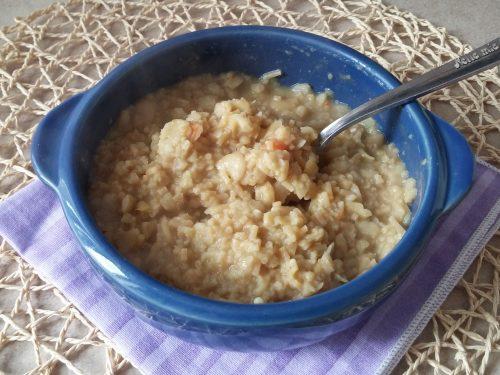 Zuppa di Fave Secche con Quinoa