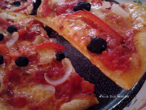 Pizza con Teff e Farina tipo 1